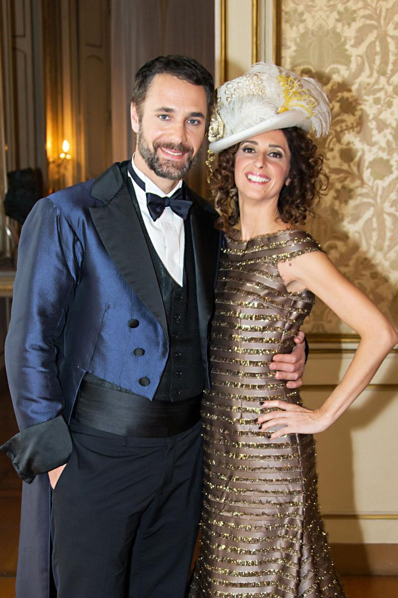 Eventi H3G Raul Bova e Teresa Mannino Spot - Photo: © Andrea Pisapia / Spazio Orti 14