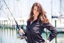 Ritratti Maria Elena Monego Fishing Beauty - Photo: © Andrea Pisapia / Spazio Orti 14