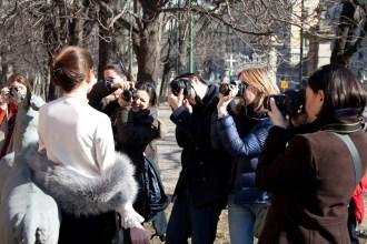 Corso Base di Fotografia Milano, Spazio Orti 14 ESTERNA SFILATA
