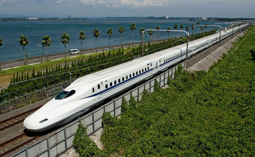 Japans maglev bullet train
