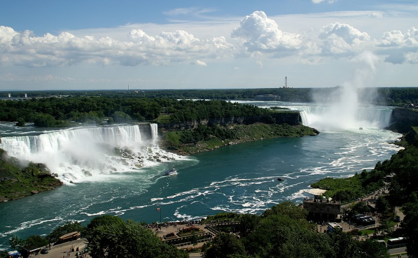 Canada's Niagara Falls, China's Great Wall, England's Harry Potter Tour