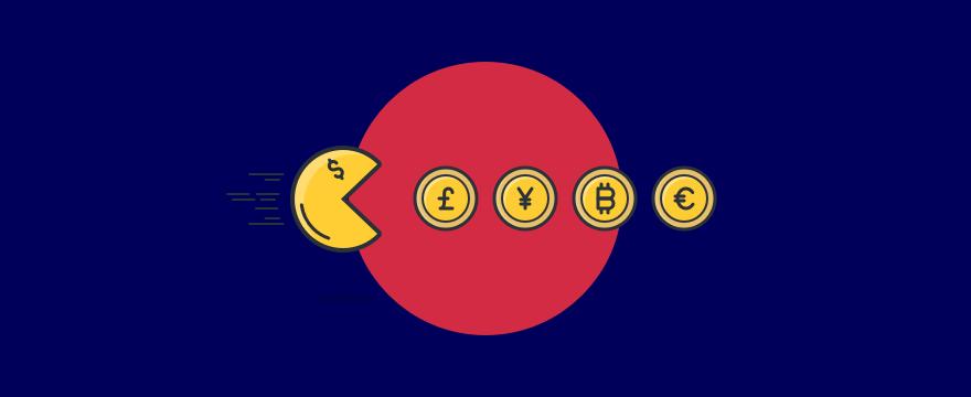 Pacman – Titelbild für Blogbeitrag zu digitalem Vertrieb