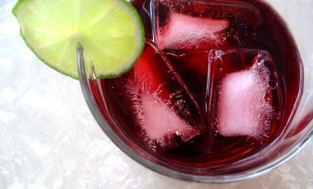 Cóctel sin alcohol Agua de Jamaica
