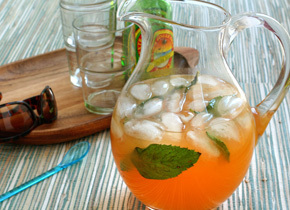 Cóctel sin alcohol Tropical Cooler