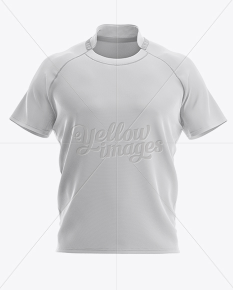 Download Men's Rugby Jersey Mockup - Front View in Apparel Mockups ...