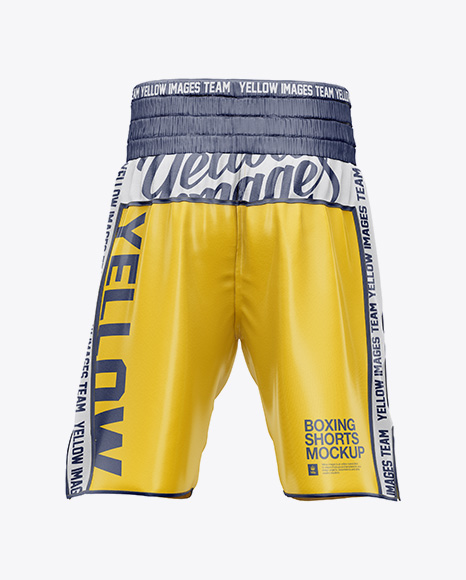 Download Boxing Ring Jacket Mockup Side View Yellow Images