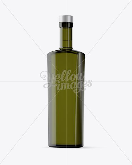 Download Matte Metallic Square Bottle Psd Mockup Yellow Images