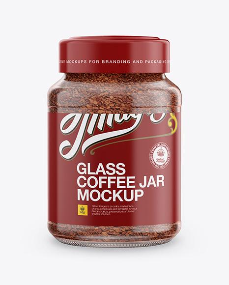 Download Coffee Jar Mockup Free Yellow Images