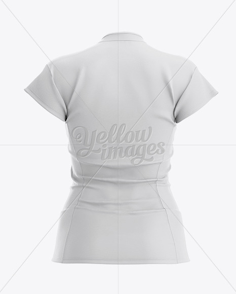 Download Download Women's Volleyball Jersey Mockup - Back View PSD