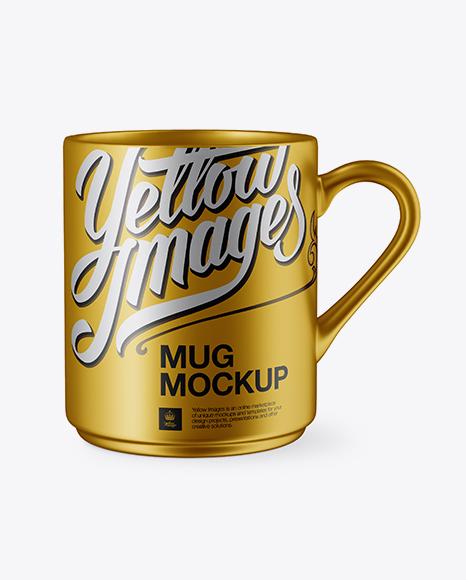 Download Deramic Mug Psd Mockup Yellow Images