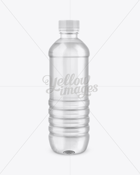 Download Pet Clear Bottle Psd Mockup Yellow Images
