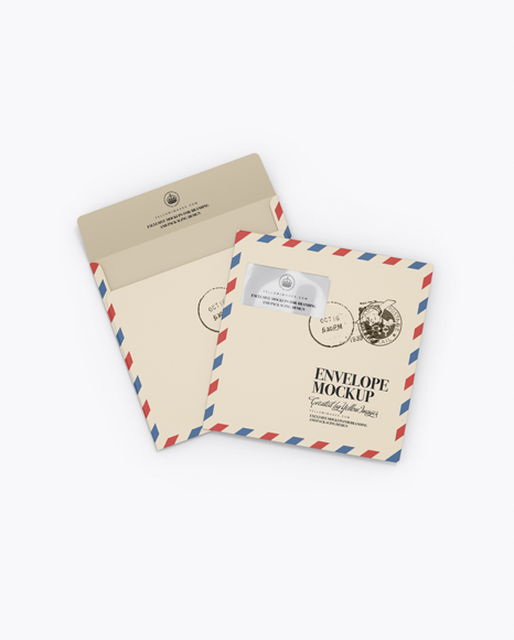 59a6c3352e5d8 Two Paper Envelopes Mockup templates