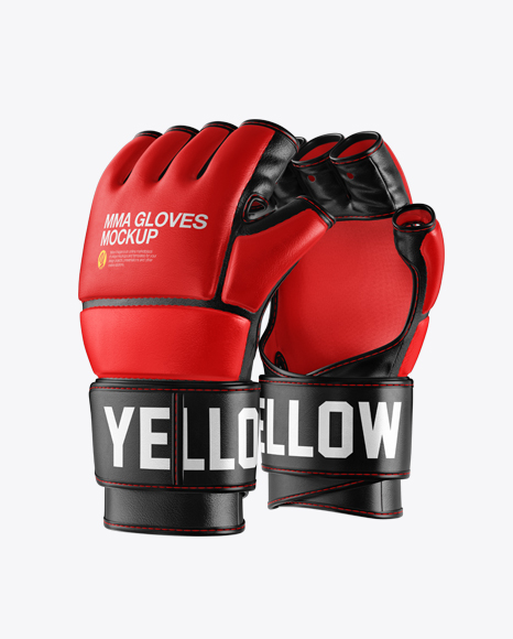 Download Boxing Glove Mockup Back View Yellowimages