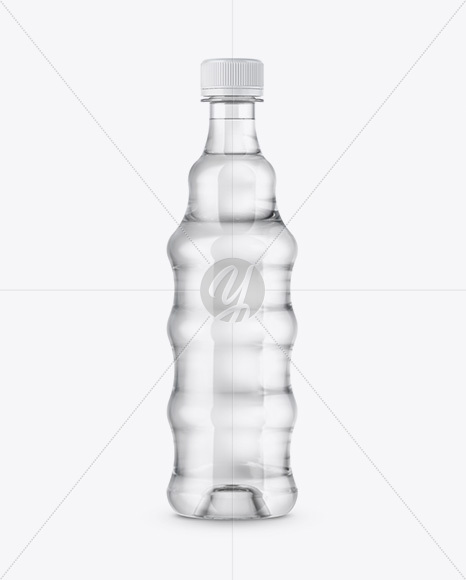 Download Plastic Bottle With Shrink Sleeve Psd Mockup Yellowimages