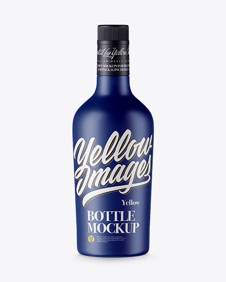 Matte Bottle Packaging Mockups