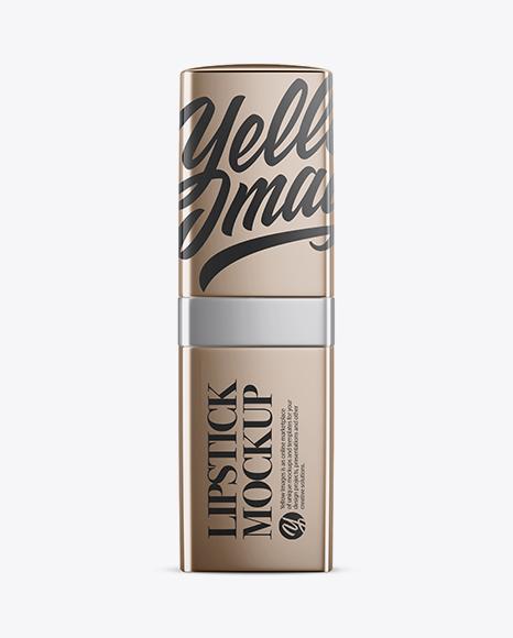 5a0aeede6403e Metallic Square Lipstick Mockup templates