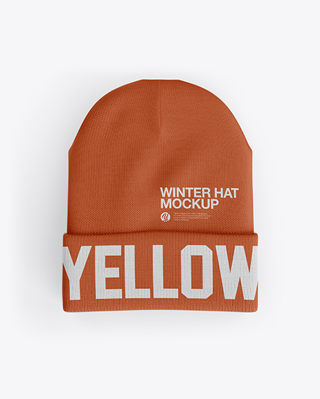 Download Beanie Hat Mockup Psd Free Yellow Images