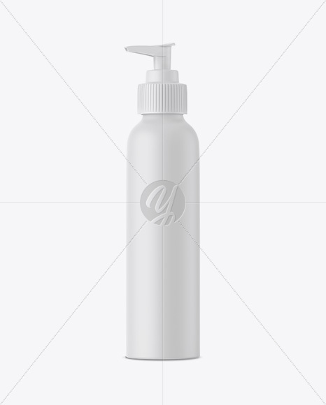 Download Plastic Bottle With Dispenser Psd Mockup Yellowimages