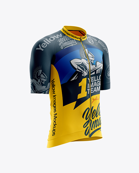 Download 3d Cycling Jersey Mockup Yellowimages