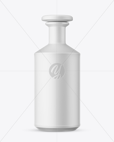 Download Matte Ceramic Bottle With Wax Psd Mockup Yellowimages