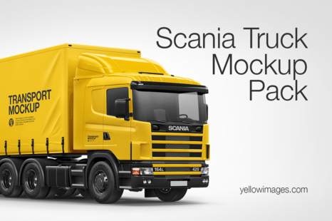 Download Free Mockup Vehicle Yellow Images