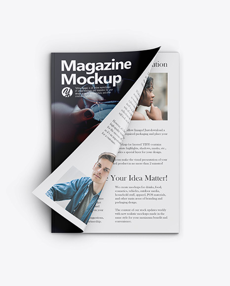 Download Free Download Mockup Magazine Yellowimages