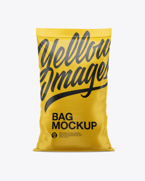 Download Bag Mockup Front View Yellowimages