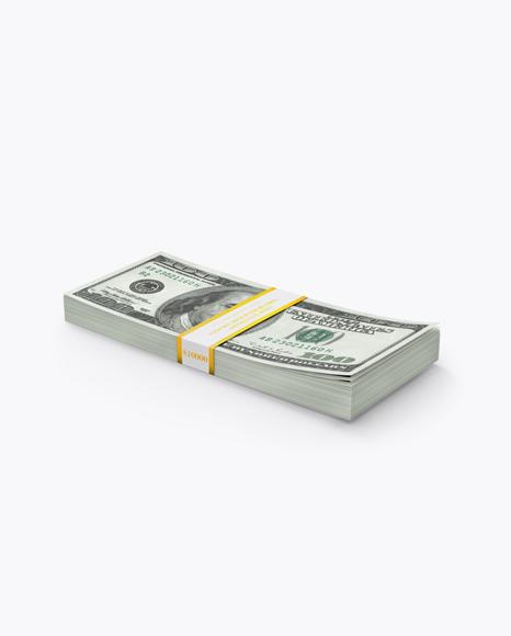 Money Stack Mockup