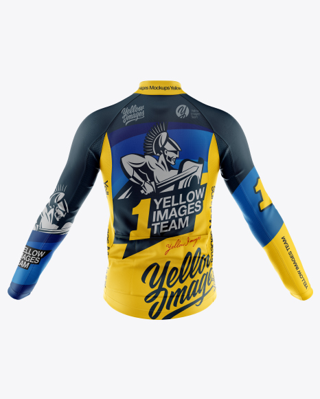 Download 3d Mockup Jersey Yellowimages