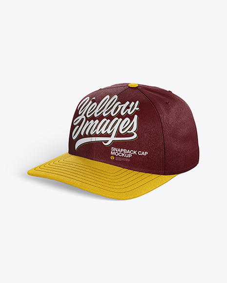 Download Baseball Cap Mockup Side View Yellowimages