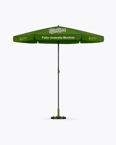 free mockups matte patio umbrella mockup front view object mockups free logo mockups creativebooster