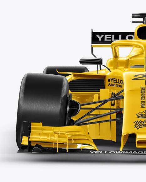 Formula-1 2018 Mockup - Front view
