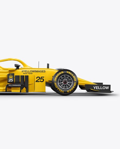 Formula-1 2018 Mockup - Side View