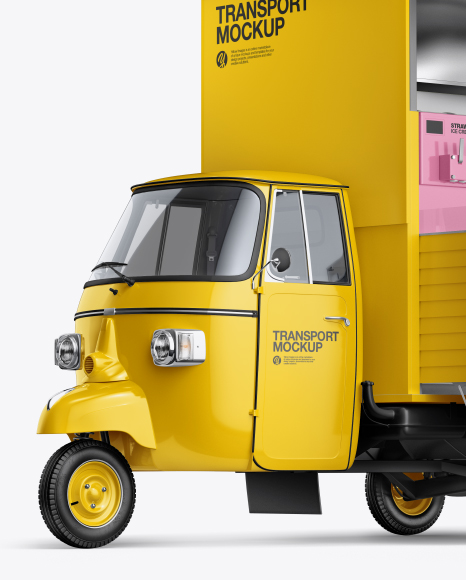 Download Food Truck Mockups Free Yellowimages