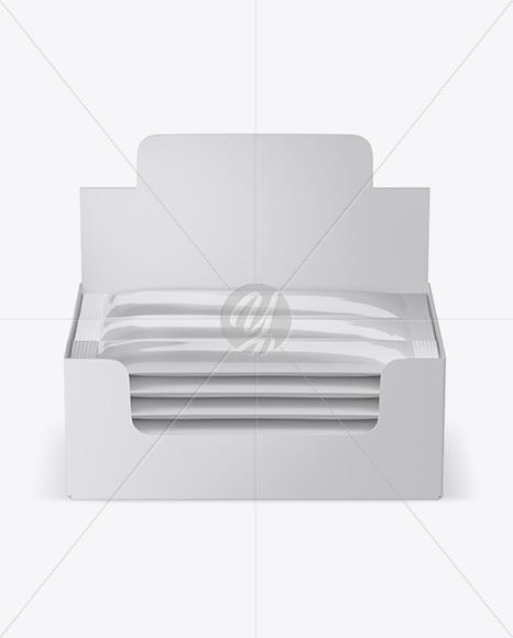Download Box 18 Sachets Psd Mockup Yellowimages