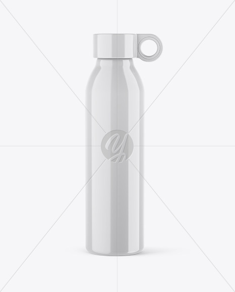 Download Glossy Flask Psd Mockup Yellowimages