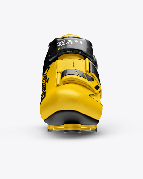 Cycling Shoe Mockup - Front View