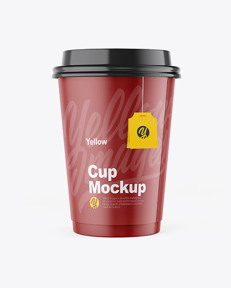 Cup Mockup - Front View
