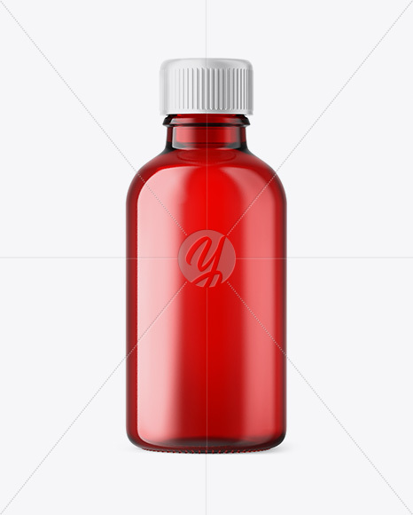 Download 50ml Red Glass Dropper Bottle Box Yellowimages