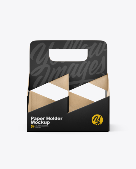 Download Paper Holder Mockup Yellowimages