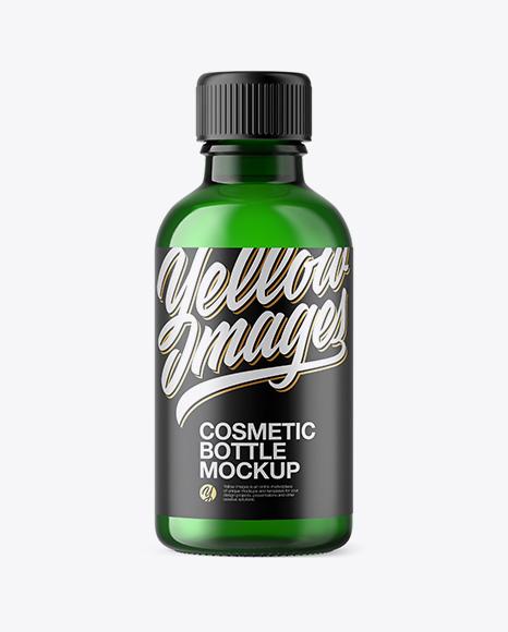 50ml Green Glass Сosmetic Bottle