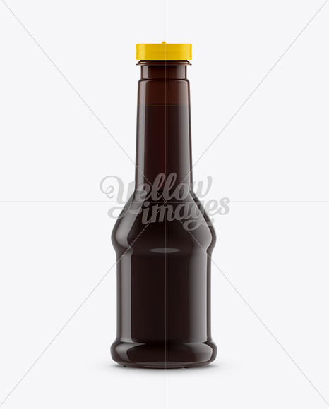 Download Glass Jar With Sauce Psd Mockup Yellow Images