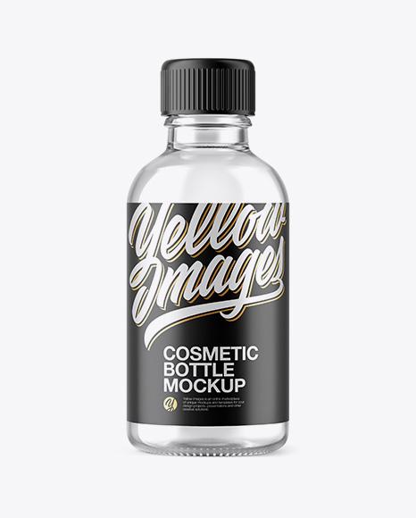 50ml Clear Glass Сosmetic Bottle