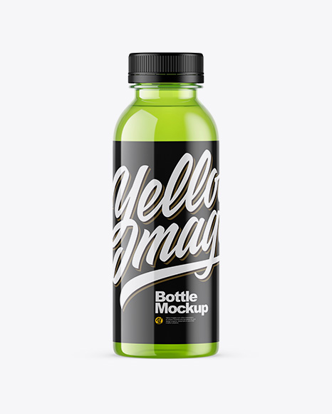 Plastic Energy Drink Bottle Mockup