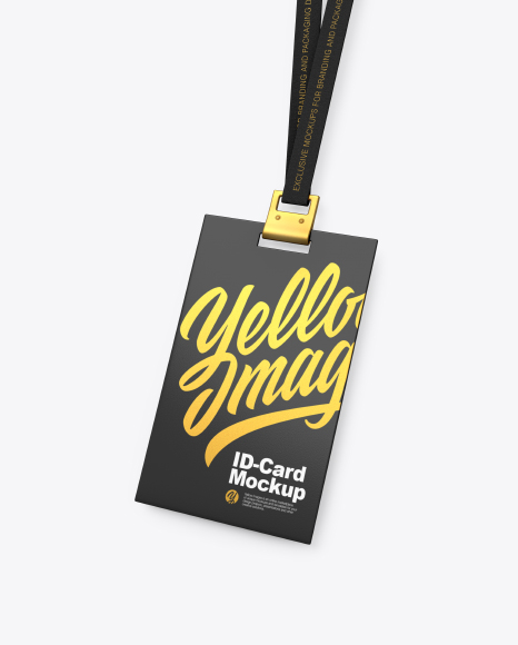 Download Free Identity Card Mockup Psd Yellowimages