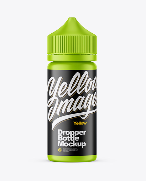 Download Glossy Dropper Bottle Matte Box Psd Mockup Yellowimages