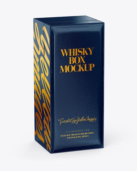 Whisky Box Mockup