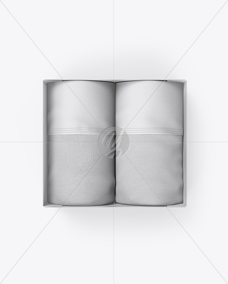 Download Boxer Briefs Mockup Front View Yellowimages