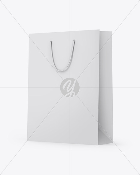 Download Matte Paper Box With Kraft Sachet Psd Mockup Yellowimages