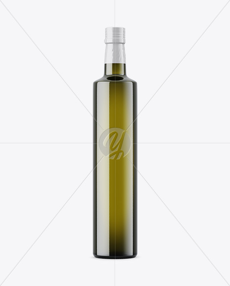 Download 600ml Clear Glass Olive Oil Bottle Psd Mockup Yellowimages